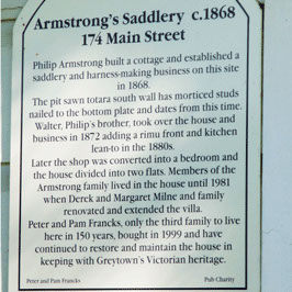 Greytown Heritage Sign Trail